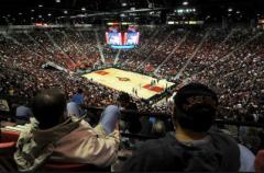 Dad never made it inside Viejas Arena
