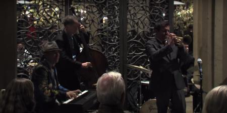 Gilbert Castellanos and his band at Panama 66.